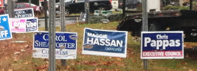 Signs of Election Day